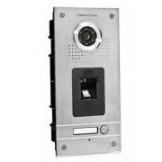 Barevná dveřní kamerová jednotka S561Z s 1 tlačítkem a otiskem prstu