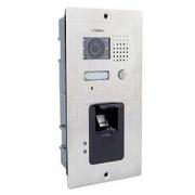 Barevná dveřní kamerová jednotka S601Z s 1 tlačítkem a otiskem prstu