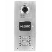Barevná dveřní kamerová jednotka S556 s 6 tlačítky
