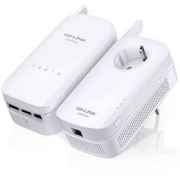 TP-Link Powerline extenderTL-WPA8630KIT - Starter Kit, AV1200 Gigabit Powerline AC Wi-Fi Kit