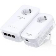 TP-Link Powerline extender TL-WPA8630PKIT - Starter Kit, AV1200 Gigabit Powerline AC Wi-Fi Kit