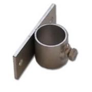 Držák stožáru 28mm (krátký pás) zinek Galva
