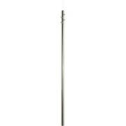 Stožár anténní 42/2-3000mm (s maticemi), zinek Žár