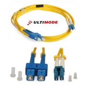 Single-mode Patch Cord: ULTIMODE PC-515D (2xSC-2xLC, 9/125)