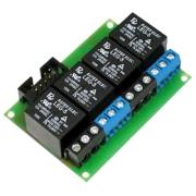 Rozšiřující modul 4 relé pro LAN /GSM controller 12V