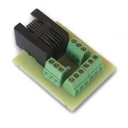 Splitter se svorkovnicí k teplotnímu čidlu DS18B20 pro Lan Controller