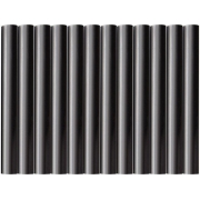 Tyčinky tavné, černá barva, pr.11x100mm, 12ks, EXTOL CRAFT