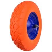 Gumové kolo do vozíku oranžové, 400x90mm, GEKO