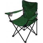 Židle kempingová skládací BARI zelená, CATTARA