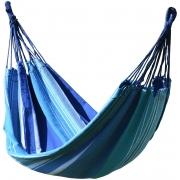 Houpací síť TEXTIL 200x100cm modro-bílá, CATTARA