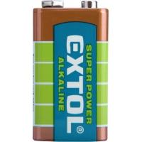 Baterie alkalické, 1ks, 9V (6LR61) EXTOL-LIGHT