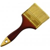 Štětec plochý, 90 mm, dřevěná rukojeť GEKO