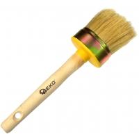 Štětec kulatý, 60 mm, dřevěná rukojeť GEKO