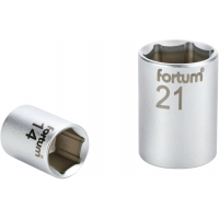 """Hlavice nástrčná, 1/4"""", 11mm, L 25mm, 61CrV5 FORTUM"""
