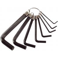 Imbus klíče, sada 8ks, 2-2,5-3-4-5-6-8-10mm EXTOL-CRAFT