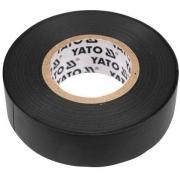 Páska izolační, 15 x 0,13 mm, délka 20 m, černá, YATO