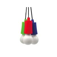 Svítilna LED - žárovka, 1W, 50lm, 3 x AAA