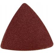 Papíry brusné delta - mix zrnitostí, bal. 20ks, 80mm, uchycení: suchý zip, EXTOL PREMIUM