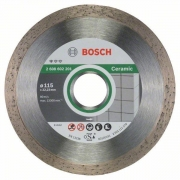 Diamantový dělicí kotouč Standard for Ceramic - 115 x 22,23 x 1,6 x 7 mm - 3165140441292 BOSCH