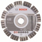 Diamantový dělicí kotouč Best for Concrete - 150 x 22,23 x 2,4 x 12 mm - 3165140581592 BOSCH