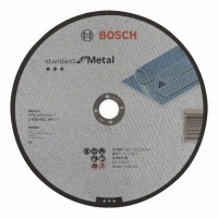 Dělicí kotouč rovný Standard for Metal - A 30 S BF, 230 mm, 22,23 mm, 3,0 mm BOSCH