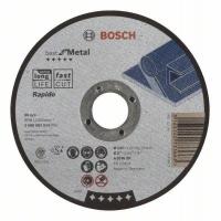 Dělicí kotouč rovný Best for Metal – Rapido - A 60 W BF, 125 mm, 1,0 mm BOSCH