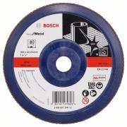 Lamelový brusný kotouč X571, Best for Metal, 180 mm, 22,23 mm, 80 - 3165140270823 BOSCH