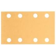 Brusný papír C470, balení 10 ks, 80 x 133 mm, 100 - 3165140247689 BOSCH