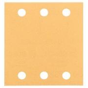 Brusný papír C470, balení 10 ks, 115 x 107 mm, 120 - 3165140343886 BOSCH