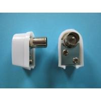 Konektor IEC samec úhlový