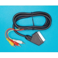 Kabel SCART (IN) - 3CINCH RCA (OUT)