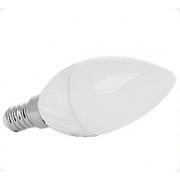 MAX LED LED žárovka E14 C30 12 SMD 5W, neutrální