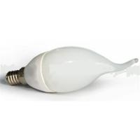 LED žárovka E14 C30L 12 SMD 4,5W, neutrální