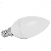 LED žárovka E14 C30 8 SMD 3W , teplá