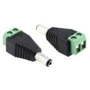 Napájecí DC samec konektor DD-DCM/UTP