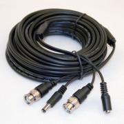 Kabel kombinovaný pro kamery. Konektory BNC+DC. Délka 20m