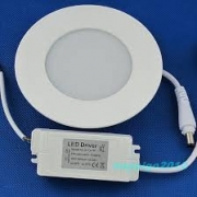 Downlight LED 6W AC85-265V round