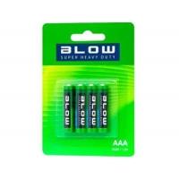 BLOW Baterie Super Heavy Duty  AAA R03P blistr 4ks