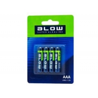 BLOW Baterie SUPER ALKALINE AAA LR3 blistr 4ks