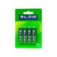 BLOW Baterie Super Heavy Duty AA R06P blistr 4ks