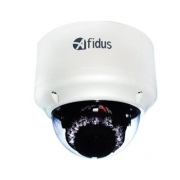 AFIDUS H.265 3M@30fps Motorized Vandal IR IP Dome