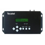 TECATEL Modulátor COFDM DVB-T DIM3, UHF-VHF, LCD, USB