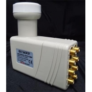 DI-WAY LNB OCTO 0,1dB Gold konektory F
