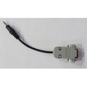 Redukce  RS232 DB9 konektor na JACK 3,5MM  pro seriový přenos dat