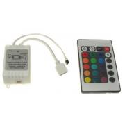 Ovladač LED IR 24 tlačítek 6A