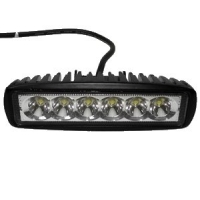 Automobilový LED reflektor 6*3W IP68