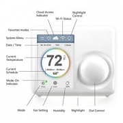 Ferguson programovatelný termostat WIFI FS1TH
