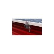 FVE Nosná konstrukce set pro 4 panely, plechová střecha  ADAPTER (klik) , svislé uchycení