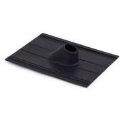 Taška stožárová 40x30 s průchodkou - černá