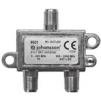 Slučovač SAT/TV Johansson 9501